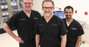 Board-certified ophthalmologists (from left to right): Scot C. Holman, MD; Scott R. Wehrly, MD; Vinay Gutti, MD
