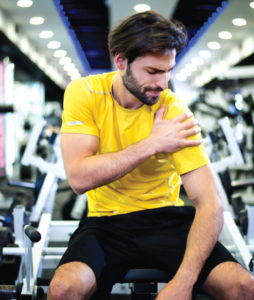 Prevention and treatment of shoulder injuries  in weight training