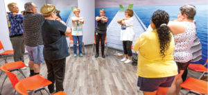 A medical center with a complimentary wellness club for seniors
