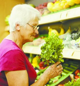 Healthy Food Shopping for Senior Adults