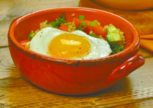 Southwestern Quinoa and Egg Breakfast Bowl