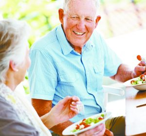 The Importance of Healthy Nutrition  for the Aging Population