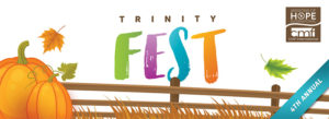 The 4th Annual Trinity Fest launches with the wildly successful Trunk or Treat! We anticipate 3,000 individuals will attend this event on Wednesday night, October 24. Trunk or Treat will serve as a preview of the four days that will follow of family-friendly fun and excitement for everyone.